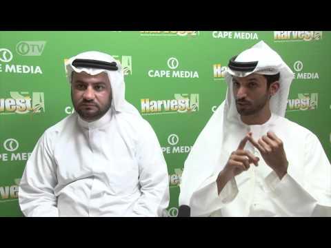 Mohamed Al Falasi CEO Khalil Al Shammari GM Jenaan Investment