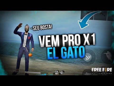 X1 EL_GATO (RODRIGO F GAMER RESPEITA) SEU BOSTA - FREE FIRE