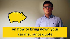 Top Tips To Reduce Your Car Insurance