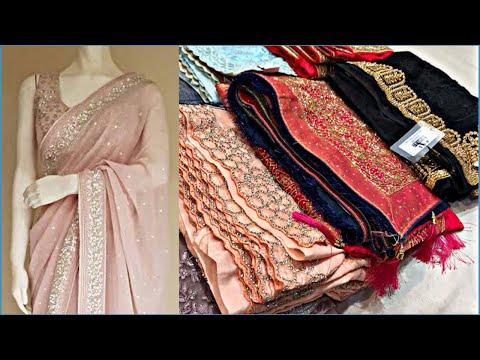 ऐसी-साड़ी-अपने-पहलें-कभी-नहि-देखीं-होगी।silver-plaited-net-saree-collection-chandni-chowk-delhi