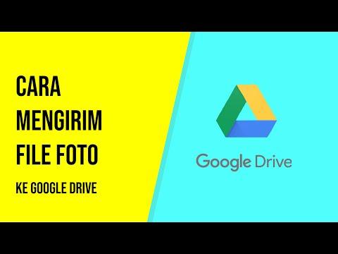 Cara upload File atau Foto ke Google Drive.