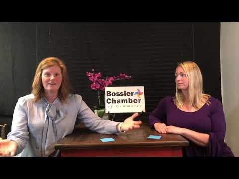 """The Katie and Jessica Show"" is a winning formula for Bossier Chamber of Commerce online show"