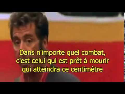 L'enfer du dimanche (Any given sunday) - speech d'Al Pacino sous titré poster