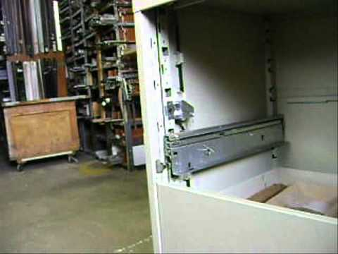 Anti tip ,safety , interlock, Steelcase file cabinet - YouTube