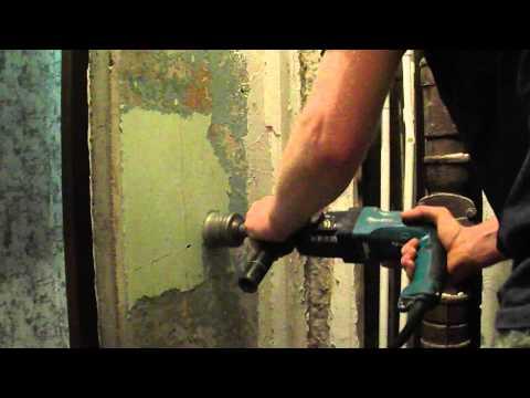 Лучший способ снять краску со стены