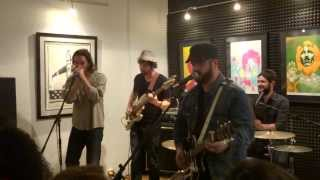 The Record Company - Boom Boom (John Lee Hooker) - Live at High Fidelity Records 8-30-13