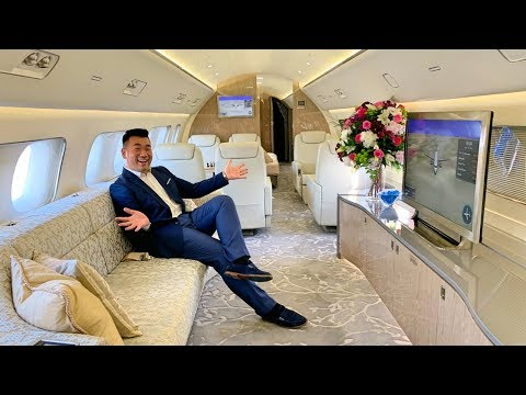 Embraer Lineage 1000E Private Jet with Double Shower