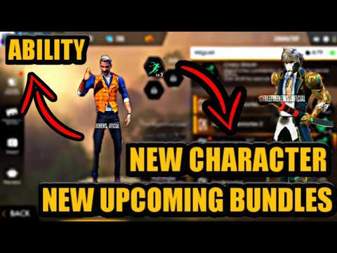 Free Fire New Character Joseph Ability New Upcoming Bundle In Garena Free Fire