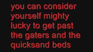 Ol' Red with lyrics
