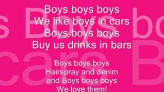 Lady Gaga - Boys Boys Boys  w/lyrics