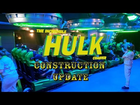 The Incredible Hulk Roller Coaster Officially Soft Opened / Employee Previews Universal Orlando