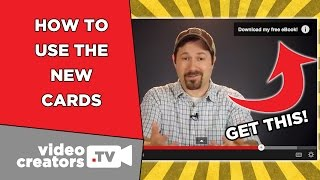 How To Setup the New YouTube Cards! Bye, Annotations!