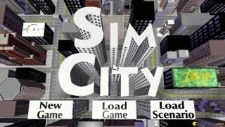 SimCity Enhanced gameplay (PC Game, 1993)