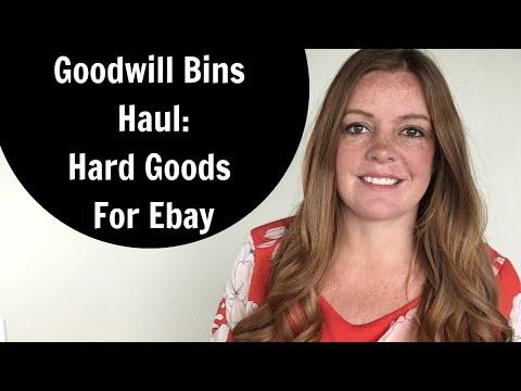 Goodwill Bins Haul - Hard Goods: Skeppshult, Hot Dogger, Diet Magic Mop & More!