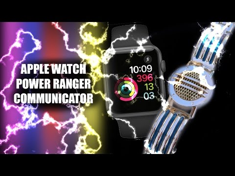 Turn your Apple Watch into a Power Ranger Communicator!