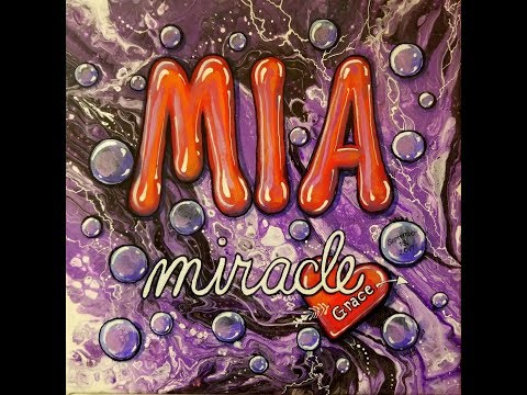DA56 Embellishing an Acrylic Pour with DecoArt for Mia with Sandra Lett 041418