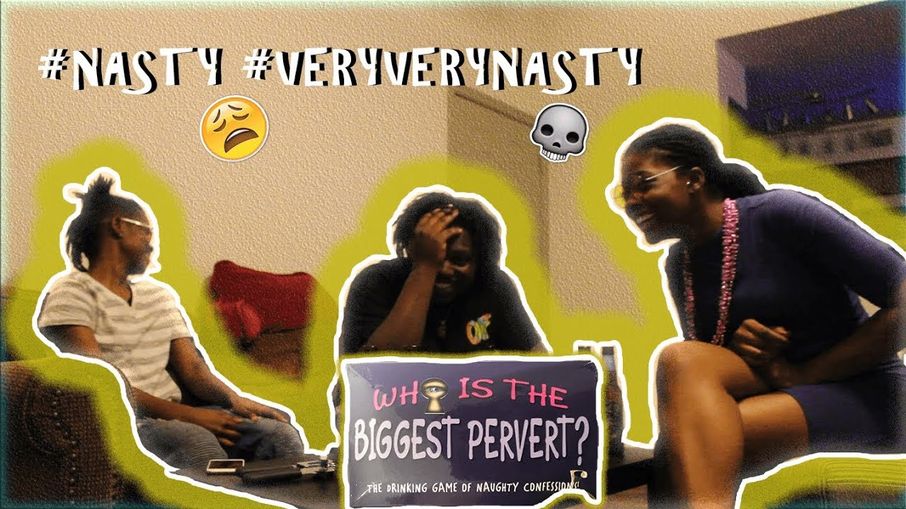 Who Is The Biggest Pervert Adult Party Card Game