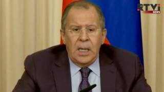 Сергей Лавров признал безуспешность переговоров с США по Сирии