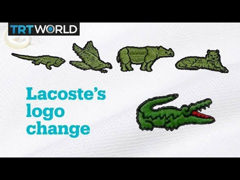 9bba160c Lacoste is replacing its logo with endangered animals - YouTube