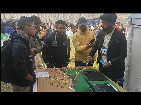 Thapathali Engineering college in National civil engineering exhibition-2020||part-1