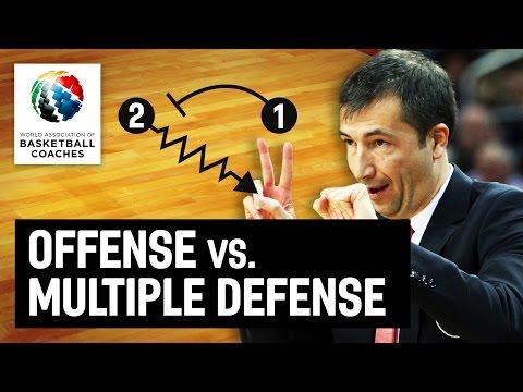 Offense vs. multiple defense - Luca Banchi - Basketball Fundamentals