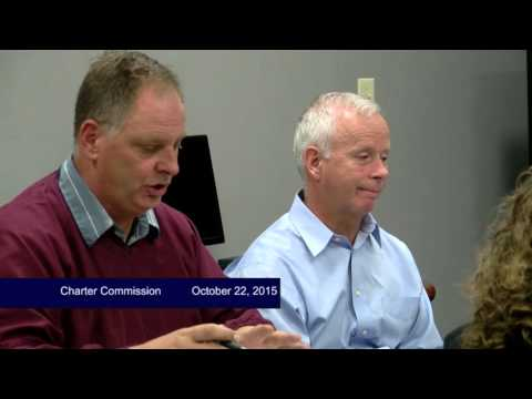 Charter Commission, October 22, 2017