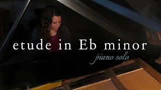 Etude in Eb minor: For the Love of Rachmaninoff - Original Piano Solo - Rebecca Belliston