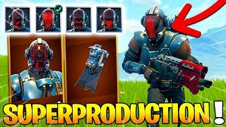 THE SKIN SECRET SUPERPRODUCTION - AMELIORATION on Fortnite: Battle Royale