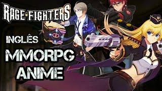 SAIU! NOVO MMORPG ESTILO ANIME! 😱 RAGE FIGHTERS (CBT) INGLÊS | GAME ACTION INCRÍVEL + LINK DOWNLOAD