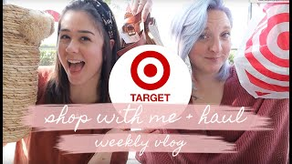 Cover images SHOP WITH ME AT TARGET + HAUL!   HOME DECOR & CLOTHING TRY ON