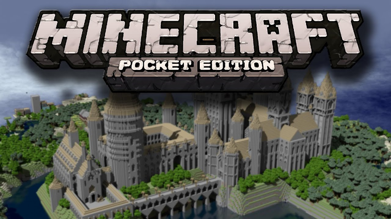 Hogwarts From Harry Potter Minecraft Pocket Edition YouTube - Kostenlose maps fur minecraft pe