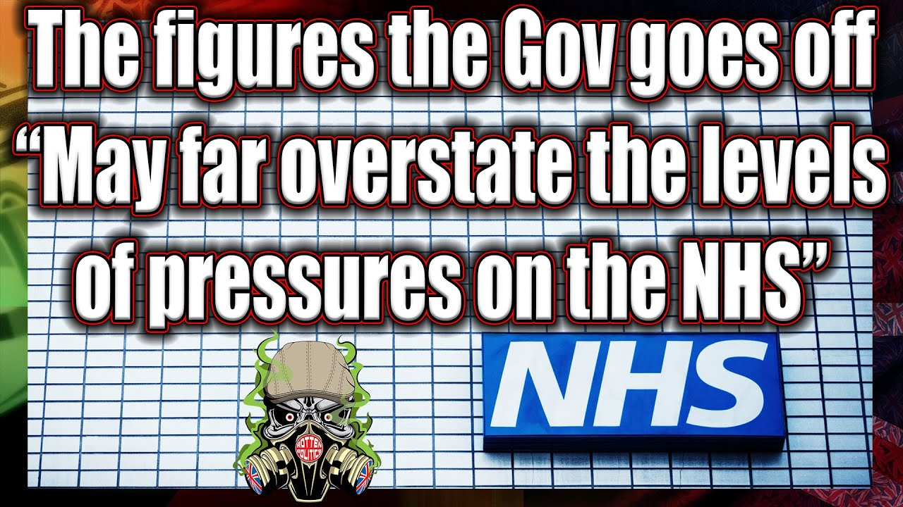 """Leaked NHS data says figures  """"May far overstate the levels of pressures on the NHS"""""""