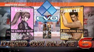 Video Dead or Alive 6 - Evo 2018 pro player exhibition download MP3, 3GP, MP4, WEBM, AVI, FLV September 2018
