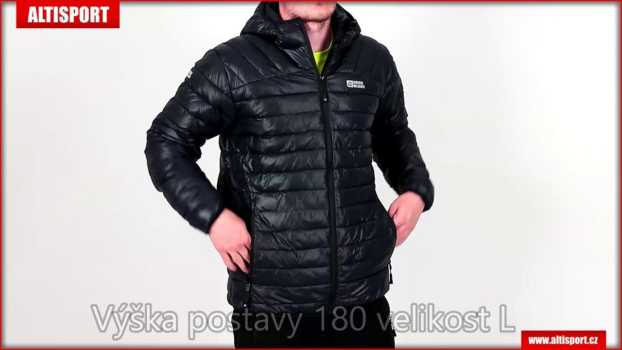 pánská zimní bunda nordblanc quilt nbwjm6410 černá - YouTube a946f3bf91b