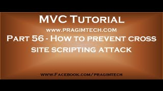 Part 56   How to prevent cross site scripting attack