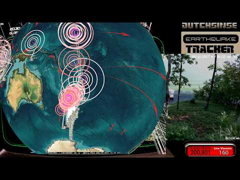 8/12/2017 -- Global Earthquake Unrest Brewing -- Italy, USA, Japan on watch