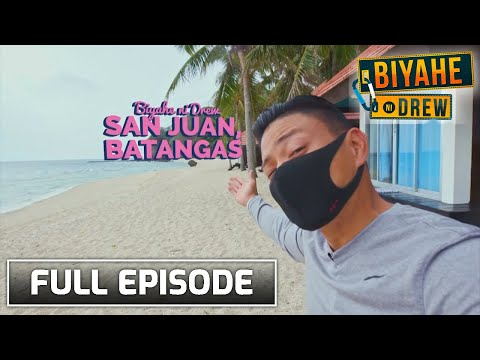 Biyahe ni Drew: Beach goals in San Juan, Batangas | Full epi