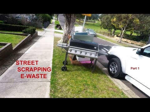 Street Scrapping for E Waste Part 1