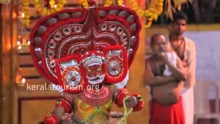 Sasthappan Theyyam, Parayangatt Temple - Muneeswara Mandiram, Kannur