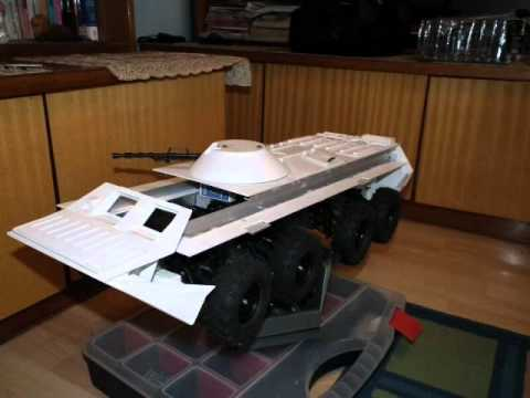 RC 1:10 BTR-80 build