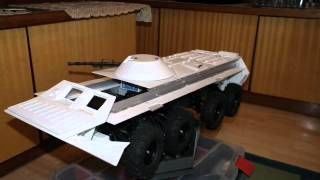 RC 1:10 BTR-80 build