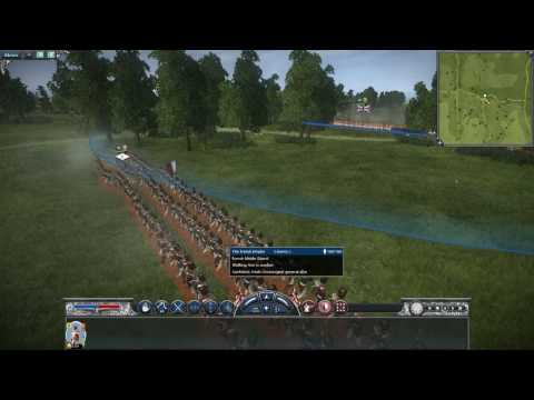 Napoleon Total War British Cold Stream Guards VS French Middle Guards