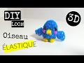 DIY OISEAU 3D AVEC DES ELASTIQUES SANS MACHINE / RAINBOW LOOM
