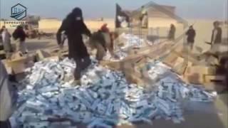 تنظيم داعش يلقي القبض على أربعة مهربين للدخان في بادية ريف ديرالزور الشرقي