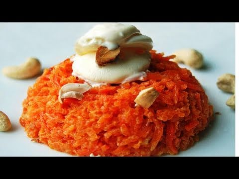 Gajar ka Halwa Pressure cooker recipe video - Gajar Burfi - Quick  by Bhavna