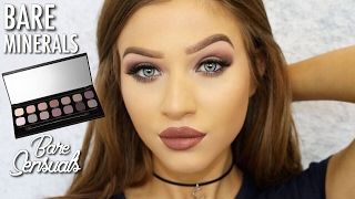 Bare Minerals Bare Sensuals Eyeshadow Palette Makeup Tutorial / Mauve Smokey Eyes