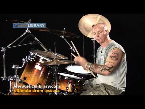 Drum Lesson - Groove & Drum Fills - Spice Up A 12/8  With Russell Gillbrook