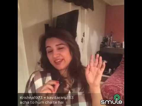 Achha to hum chalte hain covered by K K Singh