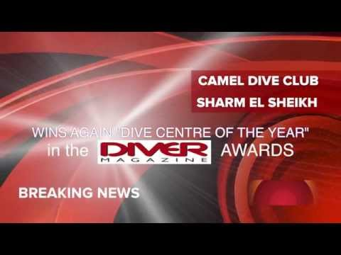 Camel wins DIVER Dive Centre of the Year 2014 AWARDS