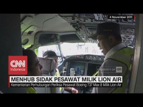 Menhub Sidak Pesawat Milik Lion Air Boeing 737 Max 8